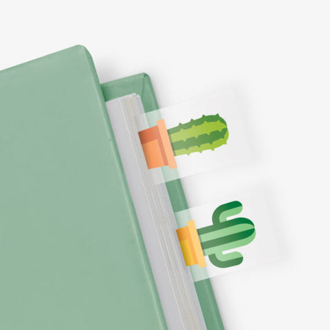 Cactus Page Markers by Mustard