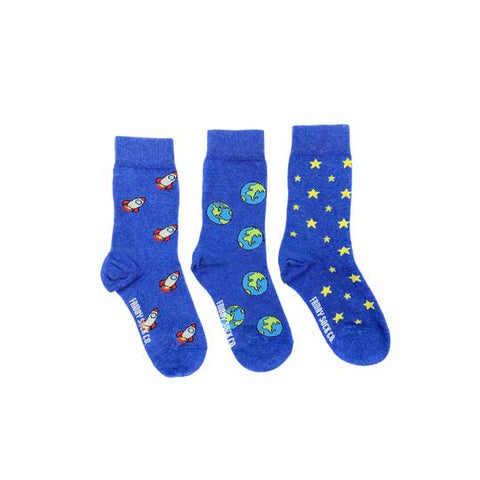 Kid's Space Socks by Friday Sock Co.