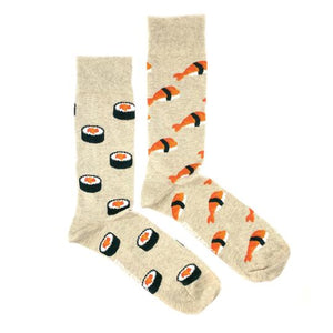 Sushi (Beige) by Friday Sock Co.