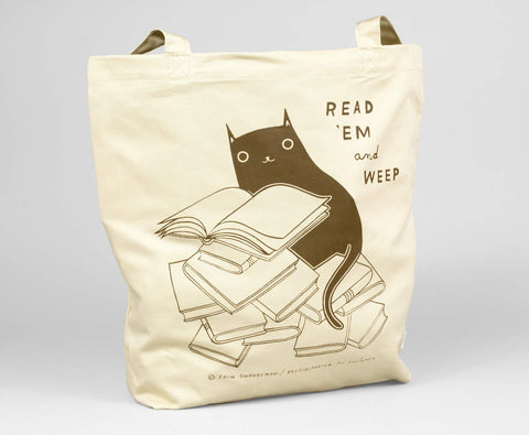 Read 'Em and Weep Tote by Boygirlparty