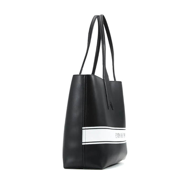 SHOPPING BAG 88007 NEGRO/BLANCO REVERSIB