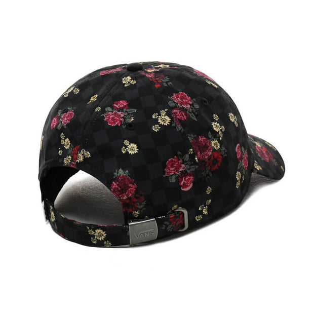 WM COURT SIDE PRINTED HAT BOTANICAL CHEC