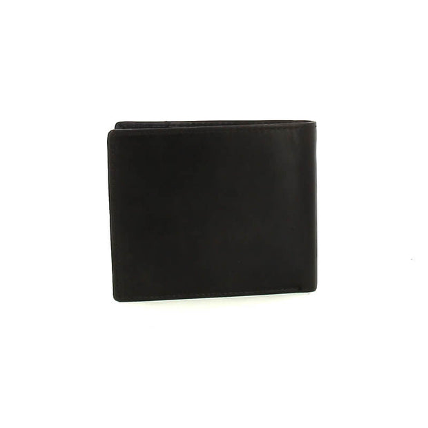 WELLBORN H WALLET COIN GREY/BLUE