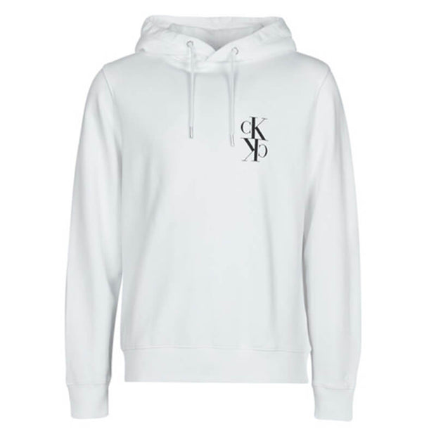 BACK MIRRORED MONOGRAM HOODIE BAE CK BLA