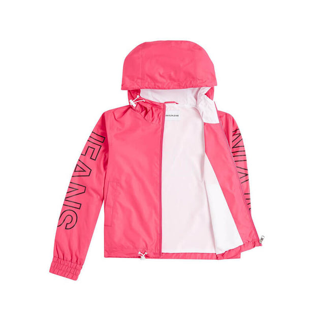 STATEMENT  LOGO WINDBREAKER VGY RASPBERR