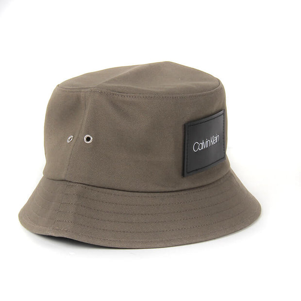 LEATHER PATCH BUCKET LBB DARK OLIVE