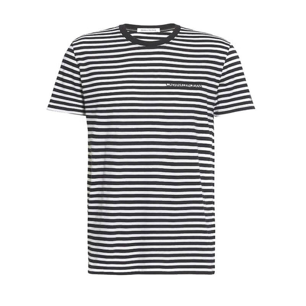 MINI STRIPE SLIM TEE BAE CK BLACK