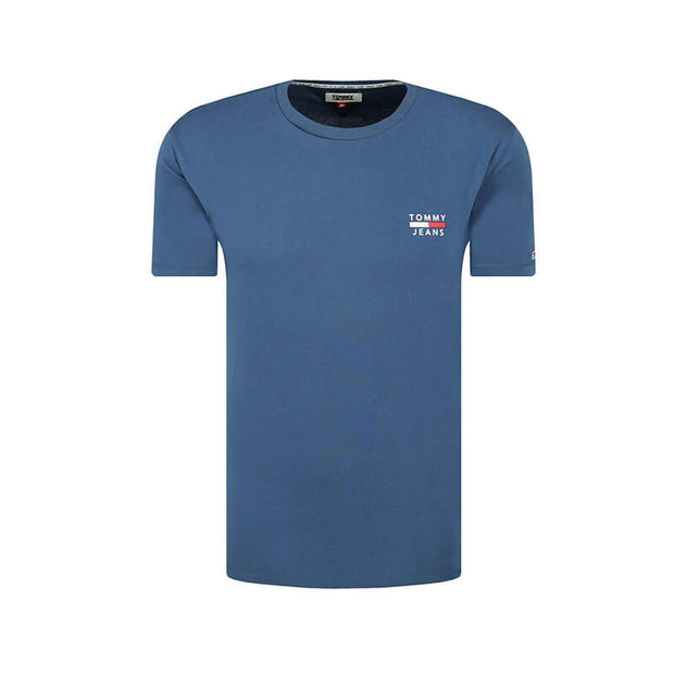TJM CHEST LOGO TEE CZY AUDACIUS BLUE