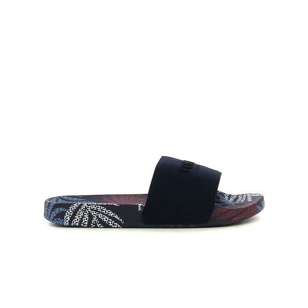 TROPICAL FADE POOL SLIDE SPORT NAVY