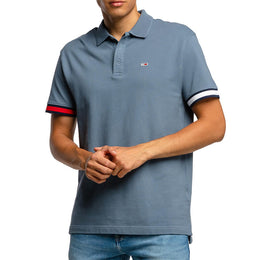 BRANDED SLEEVE POLO C0Z FADED INK