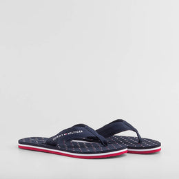TH MINI FLAGS BEACH SANDAL MARINO