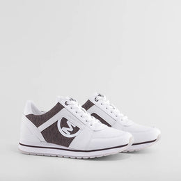 SNEAKER BILLIE TRAINER OP WHITE BROWN