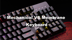 Mechanical Keyboard vs. Membrane Keyboard