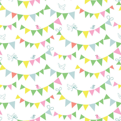 "TELA ""Bunting Day White"""