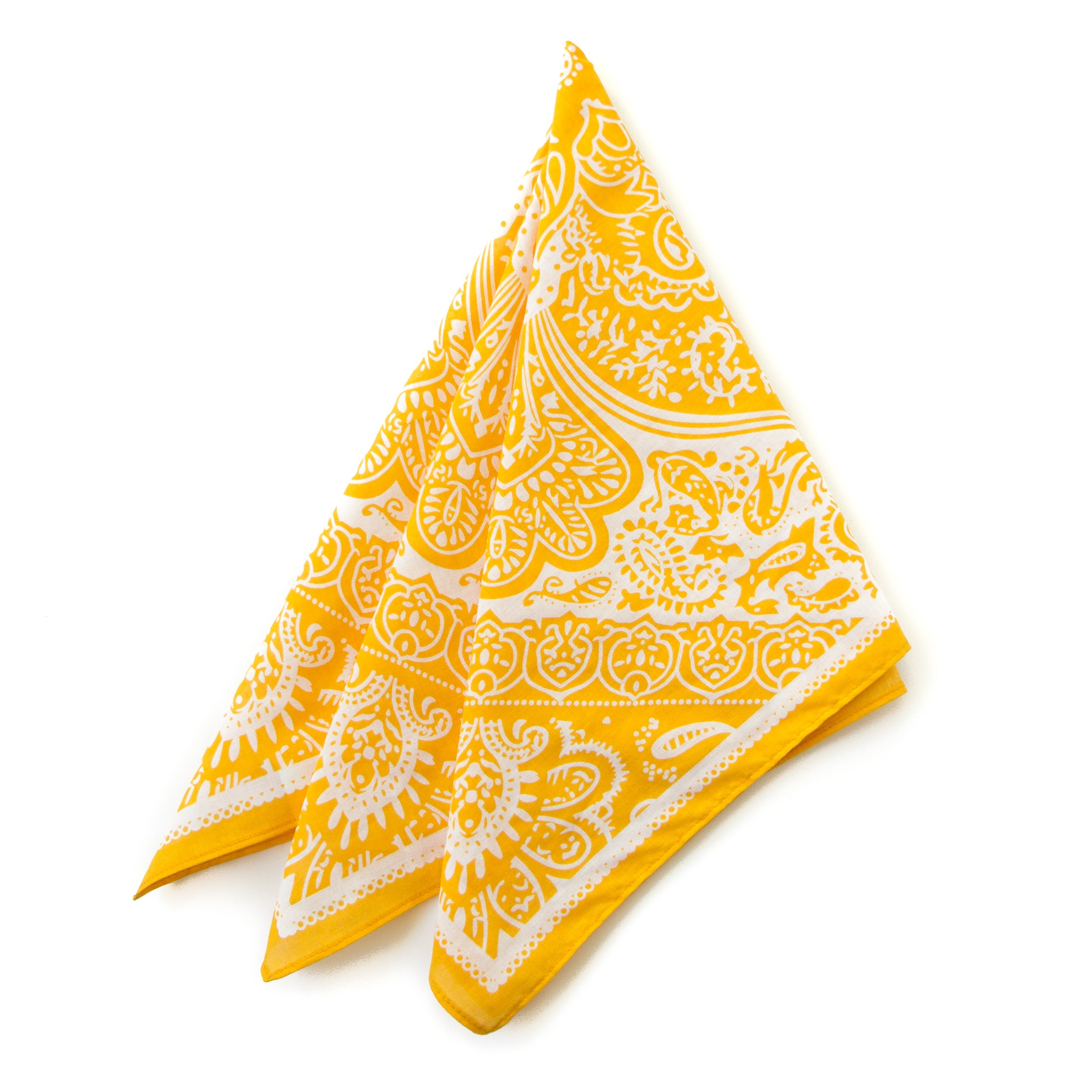 Austin Kerchief in Lemon