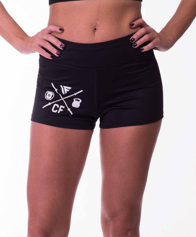 Active sport shorts stretch