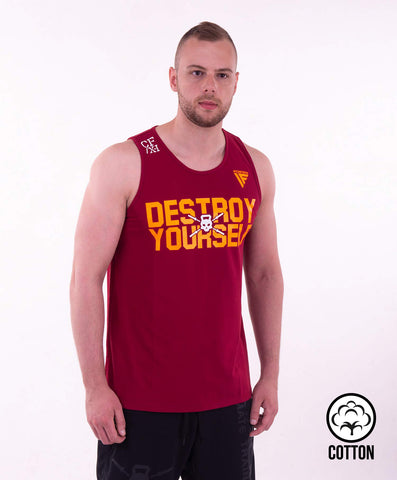 DESTROY YOURSELF TANK TOP