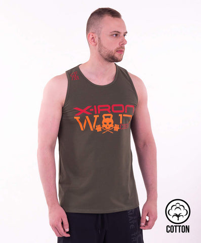 X-IRON WOD TANK TOP