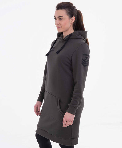 Ironfibre Division dress hoodie
