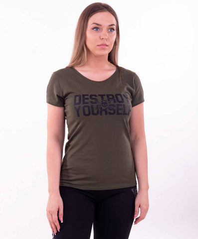 Destroy yourself t-shirt