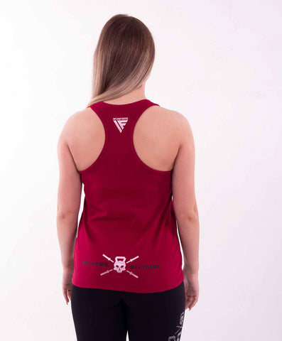 EXTREME DIVISION TANK TOP RED