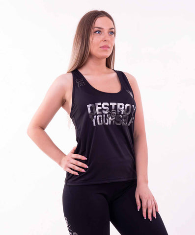 DESTROY YOURSELF TANK TOP BLACK