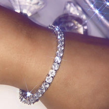Load image into Gallery viewer, ROUND DIAMOND TENNIS BRACELETS