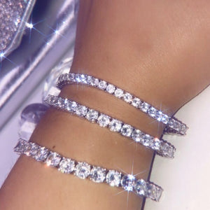 ROUND DIAMOND TENNIS BRACELETS