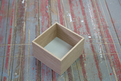 Woodpacker - Schale Quadrat hoch • Bowl square high