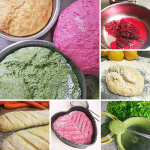 Colorful Bread - the natural way