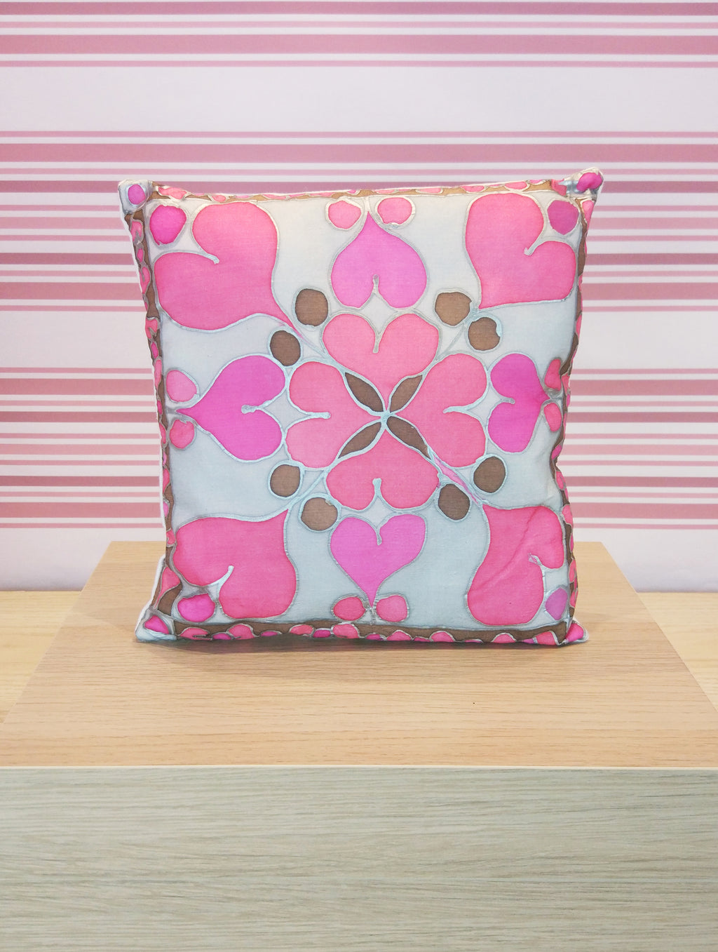 Small heart cushion