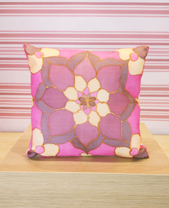 Small floral cushion