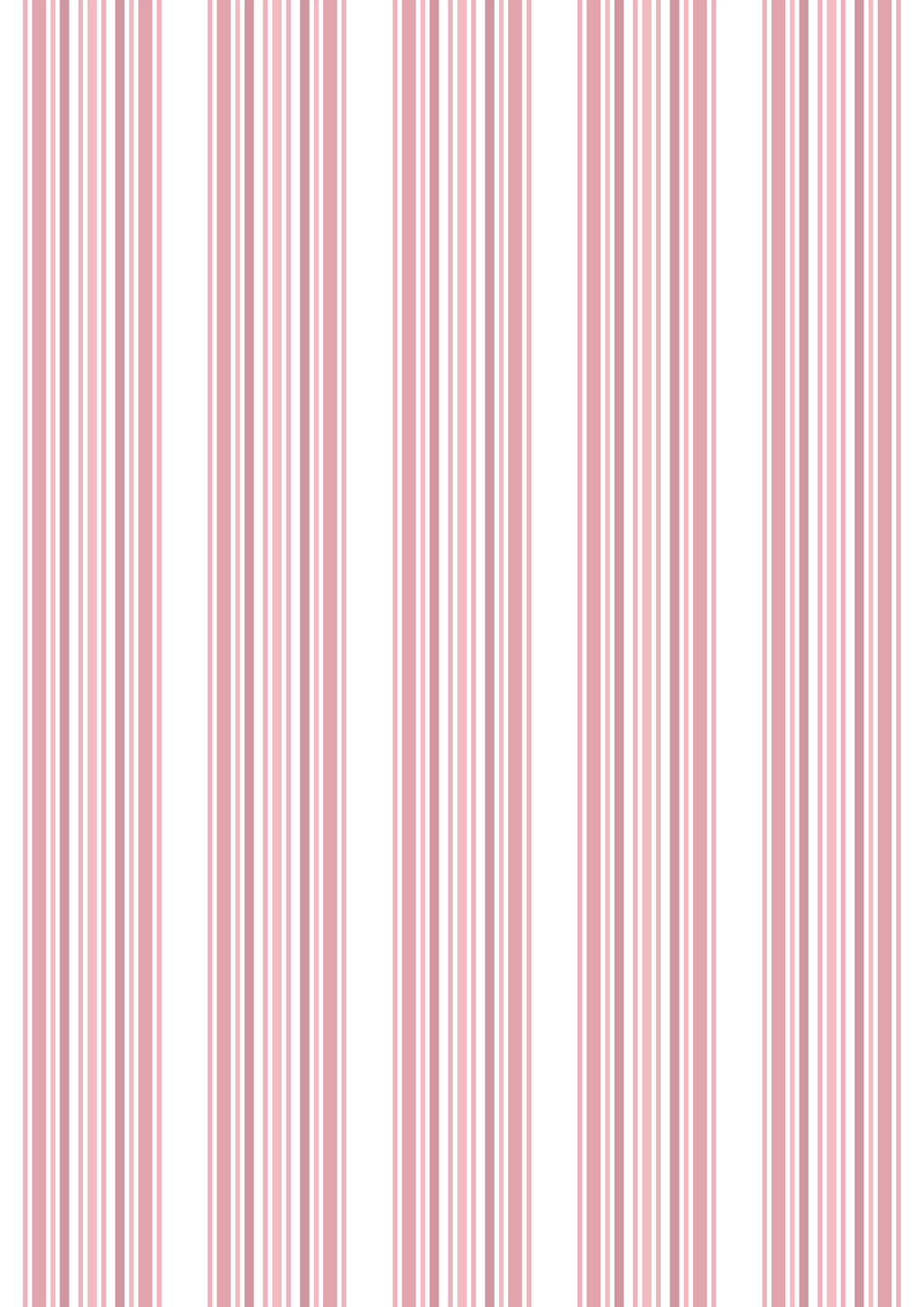 Pink stripe wall paper