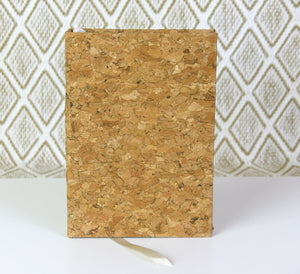 Handmade Cork Notebook