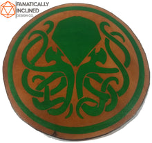Laden Sie das Bild in den Galerie-Viewer, Cthulhu Leather Handmade Coasters