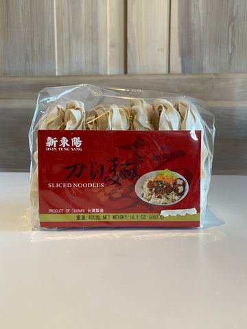 Chinese Sliced Noodles