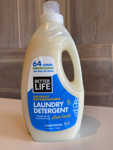 Better Life Laundry Detergent - Unscented