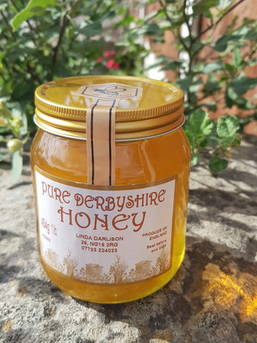 Pure Derbyshire Honey 454g(1lb)