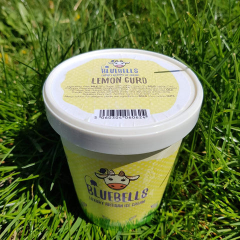 500ml Ice Cream - Lemon Curd