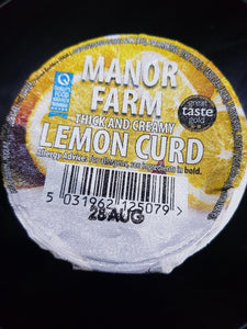 Manor Farm Lemon Curd Yoghurt