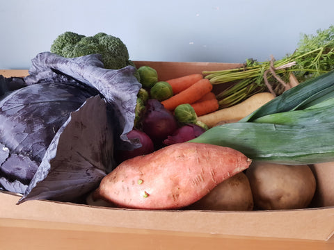 Local Christmas Veg Box Small . Feeds 2-3 people