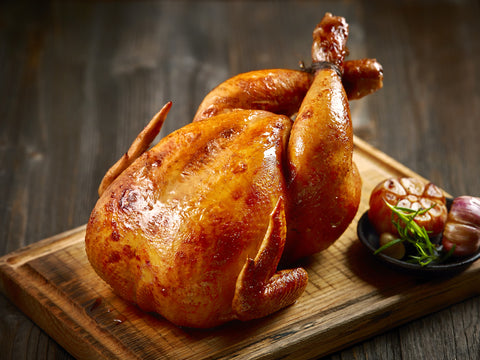 Free Range Staffordshire White Turkey - MEDIUM.  Serves 6-8 people
