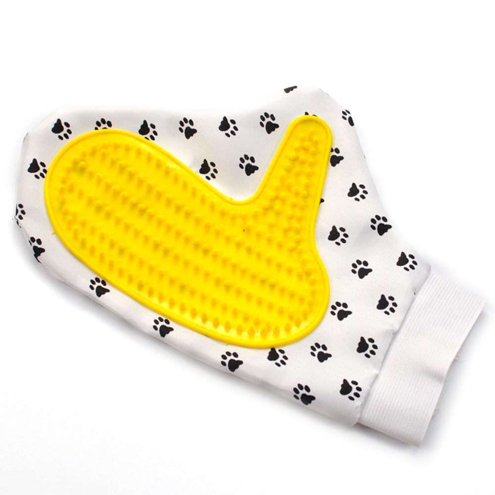 Pet Dog Cat Cleaning Brush Massage Comb Bath Shower Hair Removal Grooming Glove
