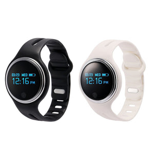 Bluetooth Smart Wirst Watch Exercise Fitness Tracker Pedometer Heart Rate Monitor