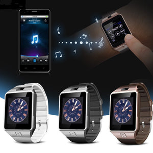 Smartwatch Bluetooth Smart Watch Wristwatch with Pedometer Anti-lost Camera for Iphone Samsung Huawei Android Phones