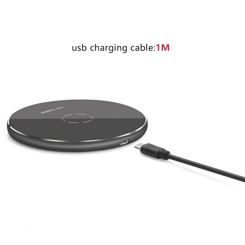 Qi Wireless Charger Pad For iPhone X 8 For Samsung Note 8 S8 Plus Fast Charging For Phone xiaomi huaiwei For Nokia LG