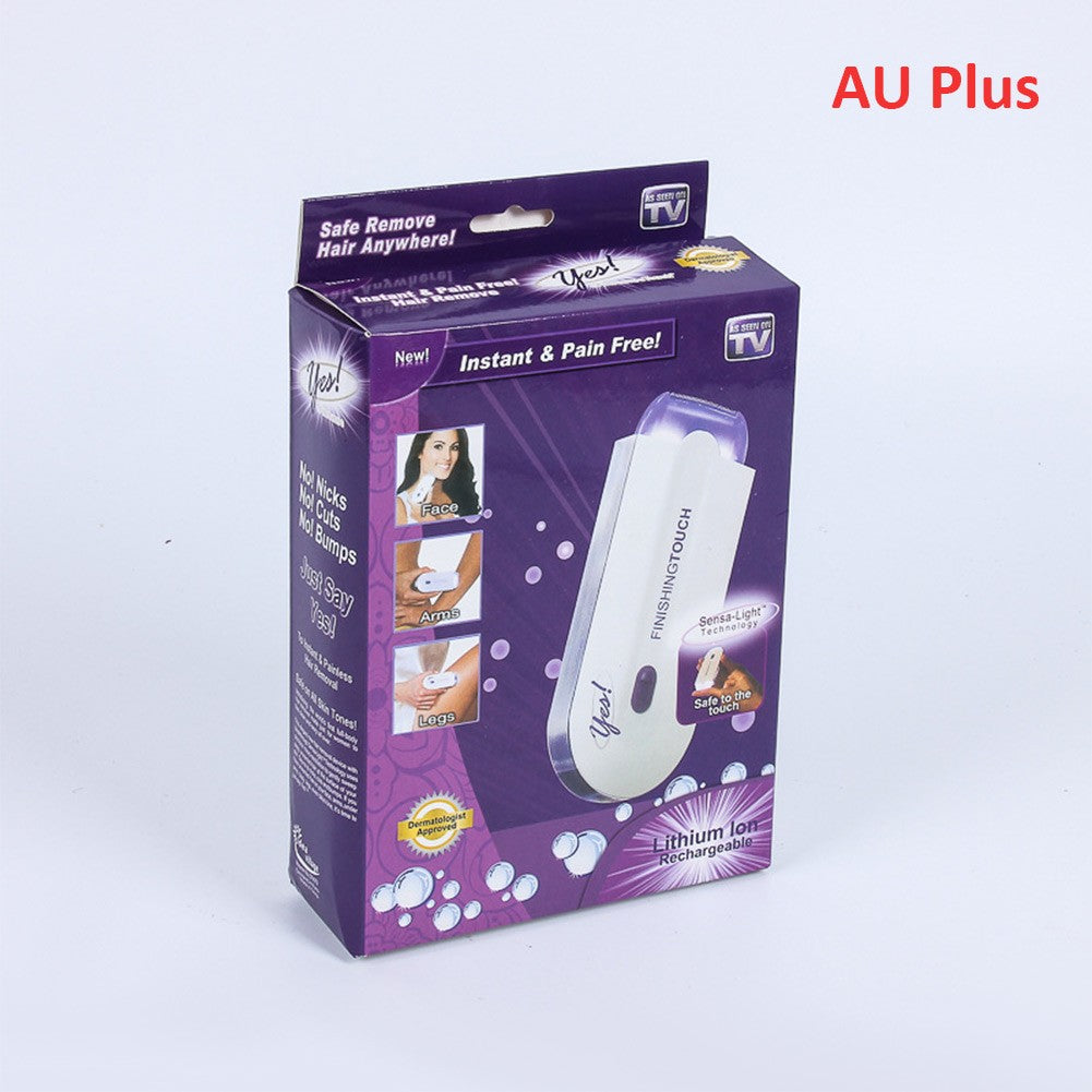 Touching lady Hair Remover Instant Pain Free Laser Hair Removal Safely Remover Hair Body Lady Epilator Massage