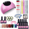 10pcs Gel Nail Polish Set