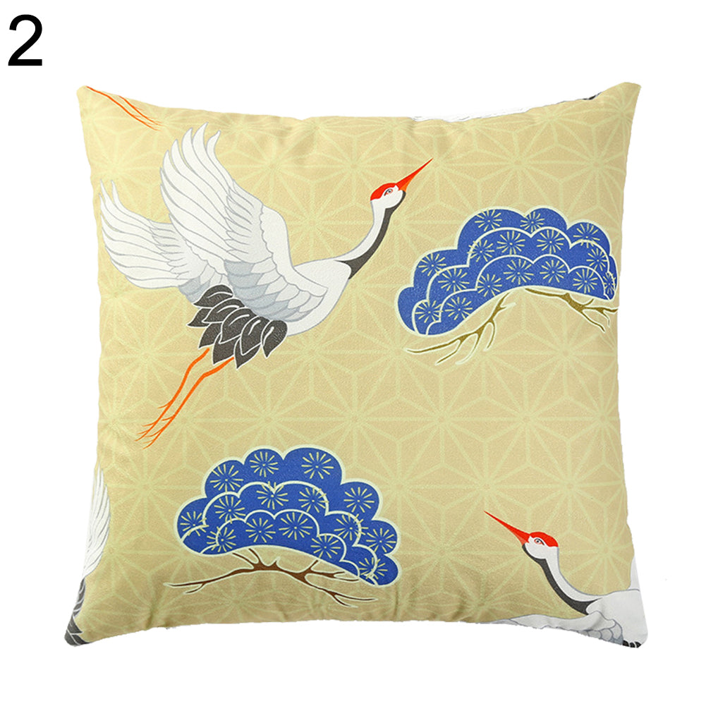 Home Office Car Sofa Decorative Animal Fish Pattern Cushion Cover Pillow Cases