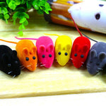 Cute Faux Little Mouse Squeak Noise Sound Rat Playing Toy for Pet Cats Dogs